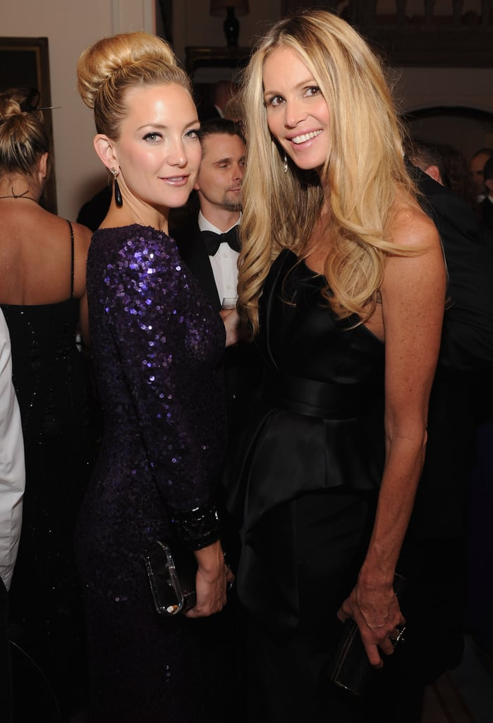Elle Mcpherson and Kate Hudson posed together at the White House Correspondant's Dinner.