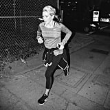 Ellie Goulding took a late-night speed run in LA.