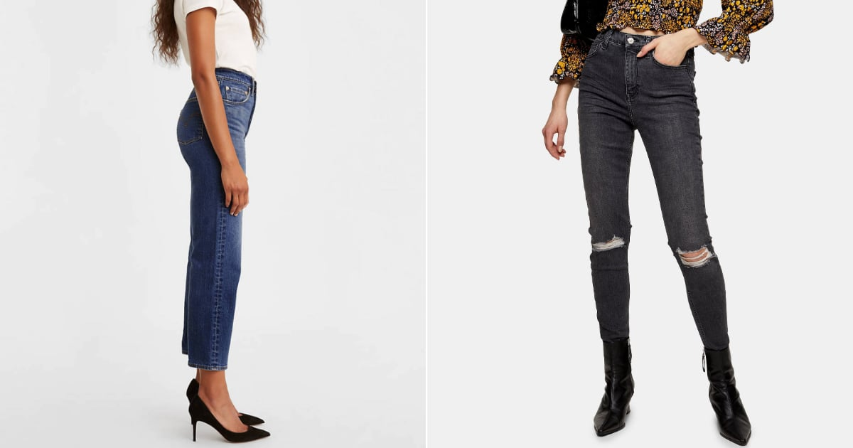 Best High Waisted Jeans   POPSUGAR Fashion