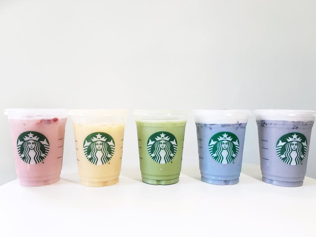 Starbucks Rainbow Drinks Review