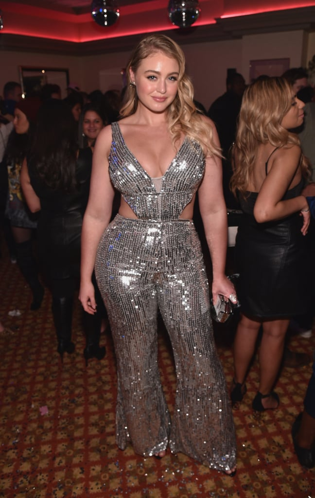 Iskra Lawrence Grammys Afterparty Dresses 2018