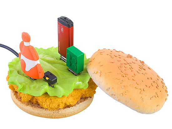 Chicken Sandwich USB Hub Poll
