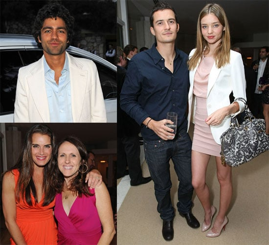 Orlando Bloom Audi Party