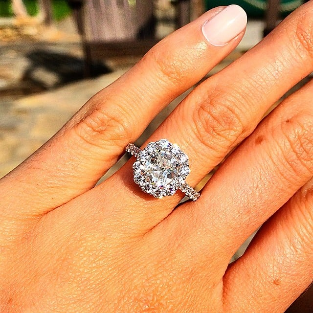 big engagement ring inspiration popsugar love sex - Girl Wedding Rings