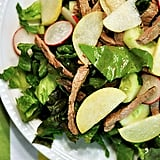 Apple, Pear, Radish, and Sesame Steak Salad