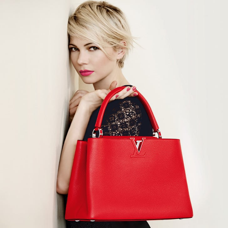 dcb31d5e63 Michelle Williams For Louis Vuitton Full Spring Campaign | POPSUGAR ...