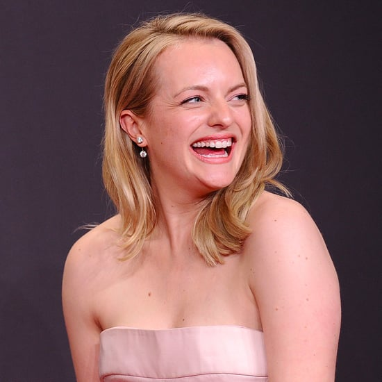 Elisabeth Moss Talking Backstage at the Emmys 2017
