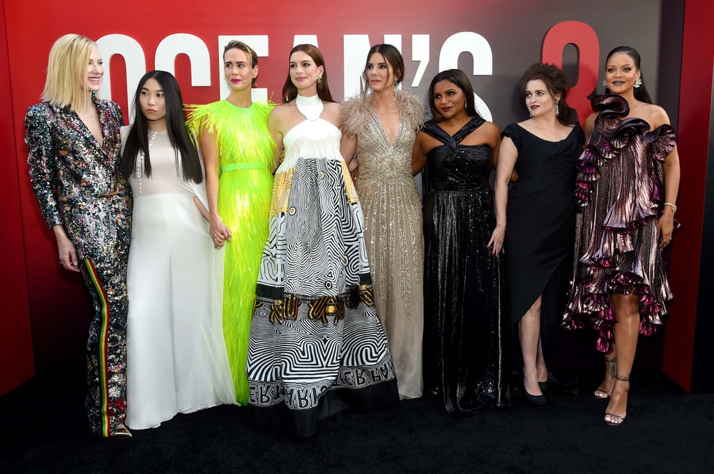Celebrities at the Ocean's 8 Premiere 2018
