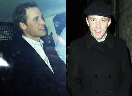 27/03/2009 Prince William and Guy Ritchie