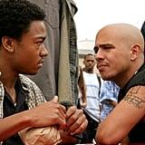 "Francis Capra (Right) as Eli ""Weevil"" Navarro"