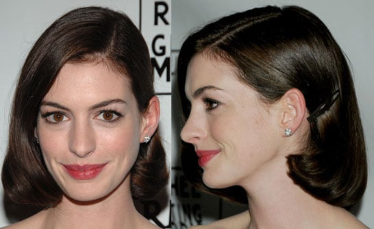 Anne Hathaway's Hair and Makeup at the Rachel Getting Married Premiere