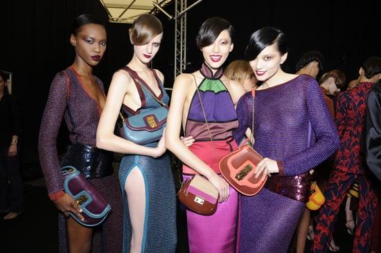 Backstage Photos from Paris Fashion Week Spring 2011: Louis Vuitton, Hermes, John Galliano, Alexander McQueen, Chloe