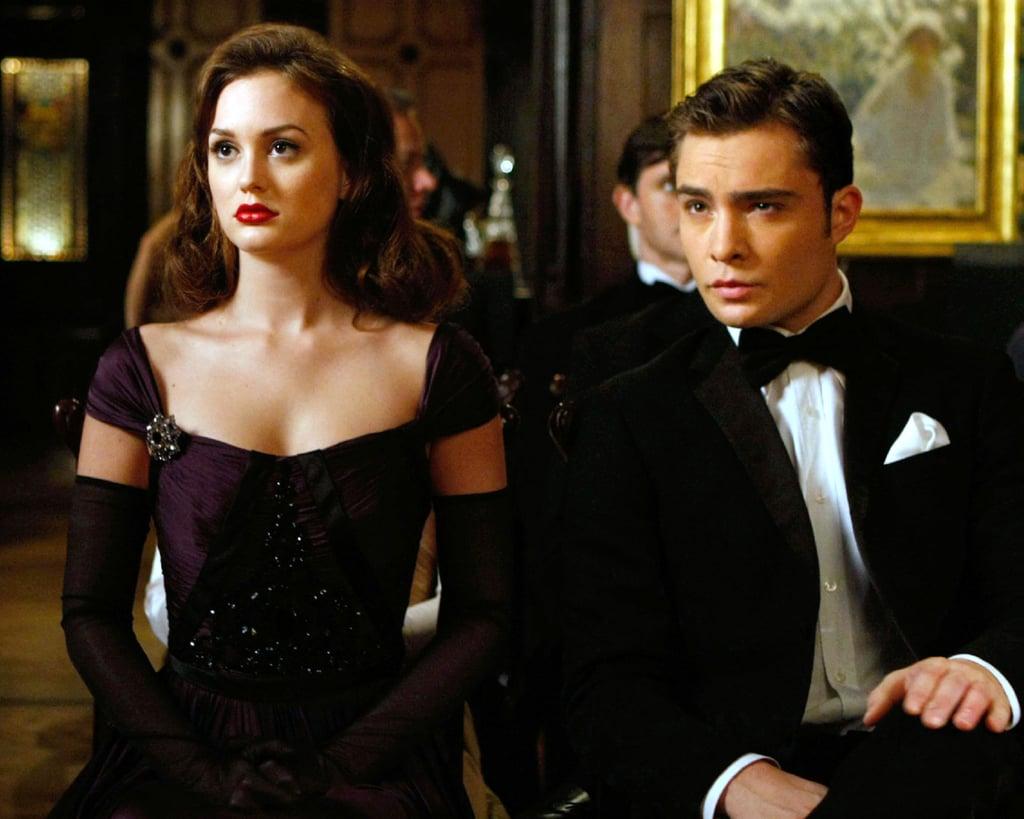 Blair's Off-the-Shoulder Black Dress