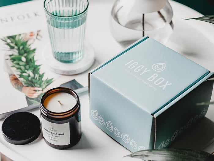 Iggy Box Scented Candle Subscription Box
