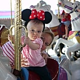Babies can go on most rides in Magic Kingdom and a bunch in the other parks.