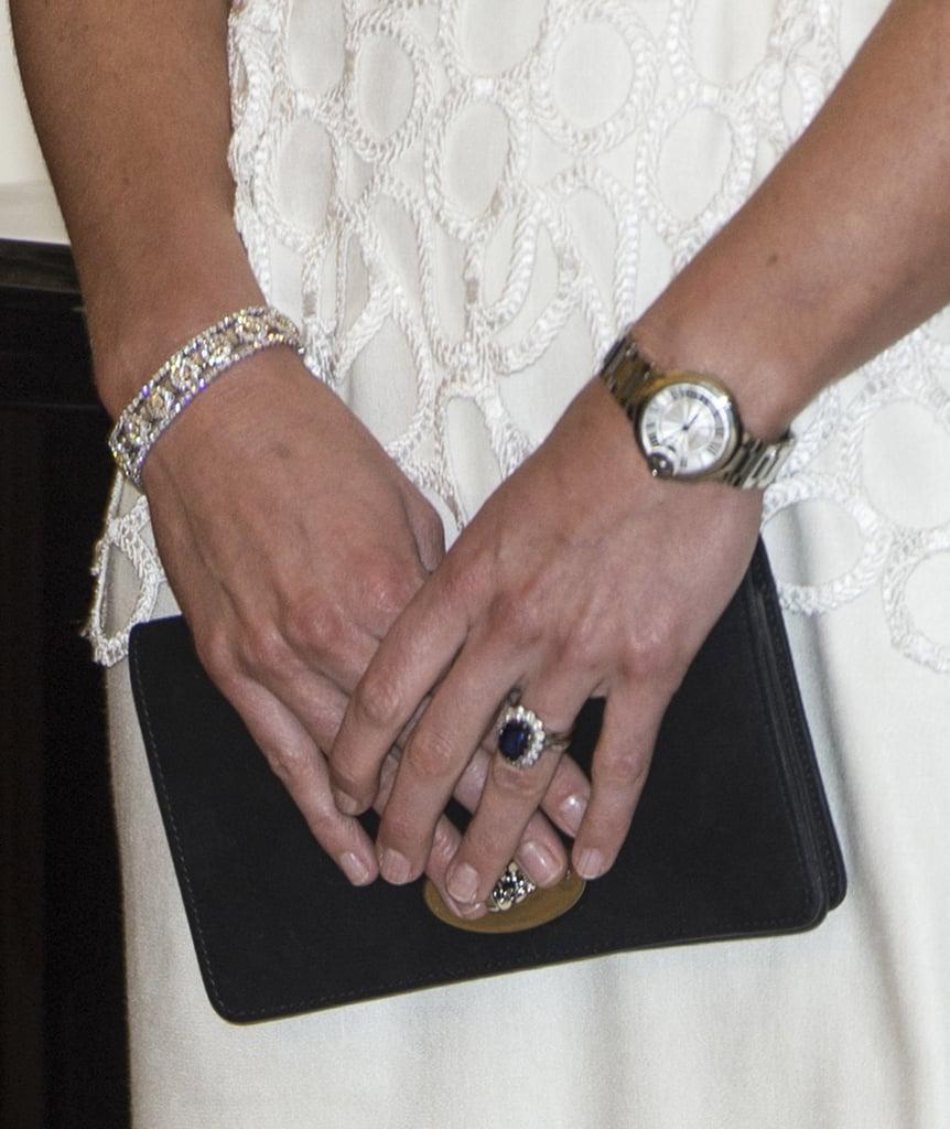Diamond Bracelet From Prince Charles The Bafta Awards