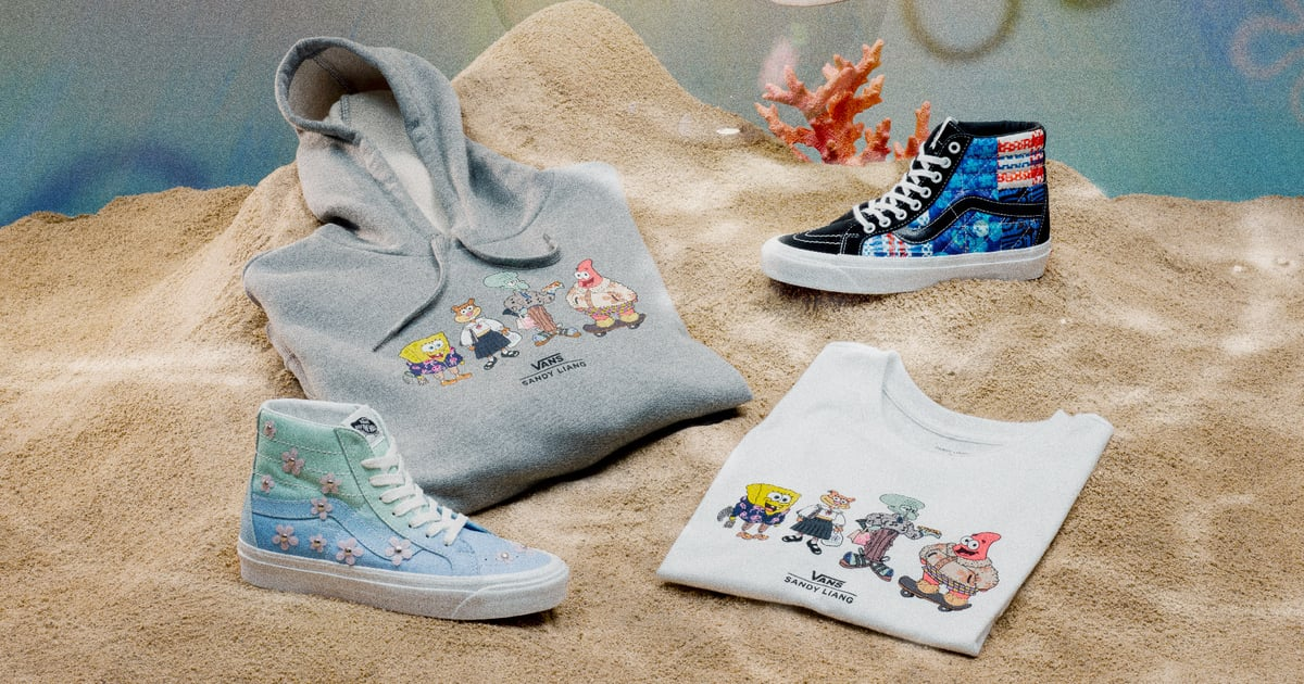 Vans and Sandy Liang Created a SpongeBob SquarePants Collection That's So Darn Cute