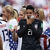 Adrianna Franch at the Women's World Cup