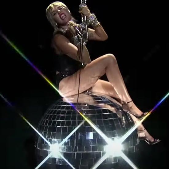 Miley Cyrus's Disco Wrecking Ball Outfit at 2020 MTV VMAs