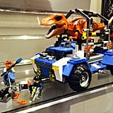 Lego Jurassic World T-Rex Tracker