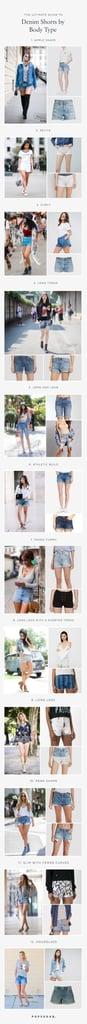 Denim Shorts by Body Type