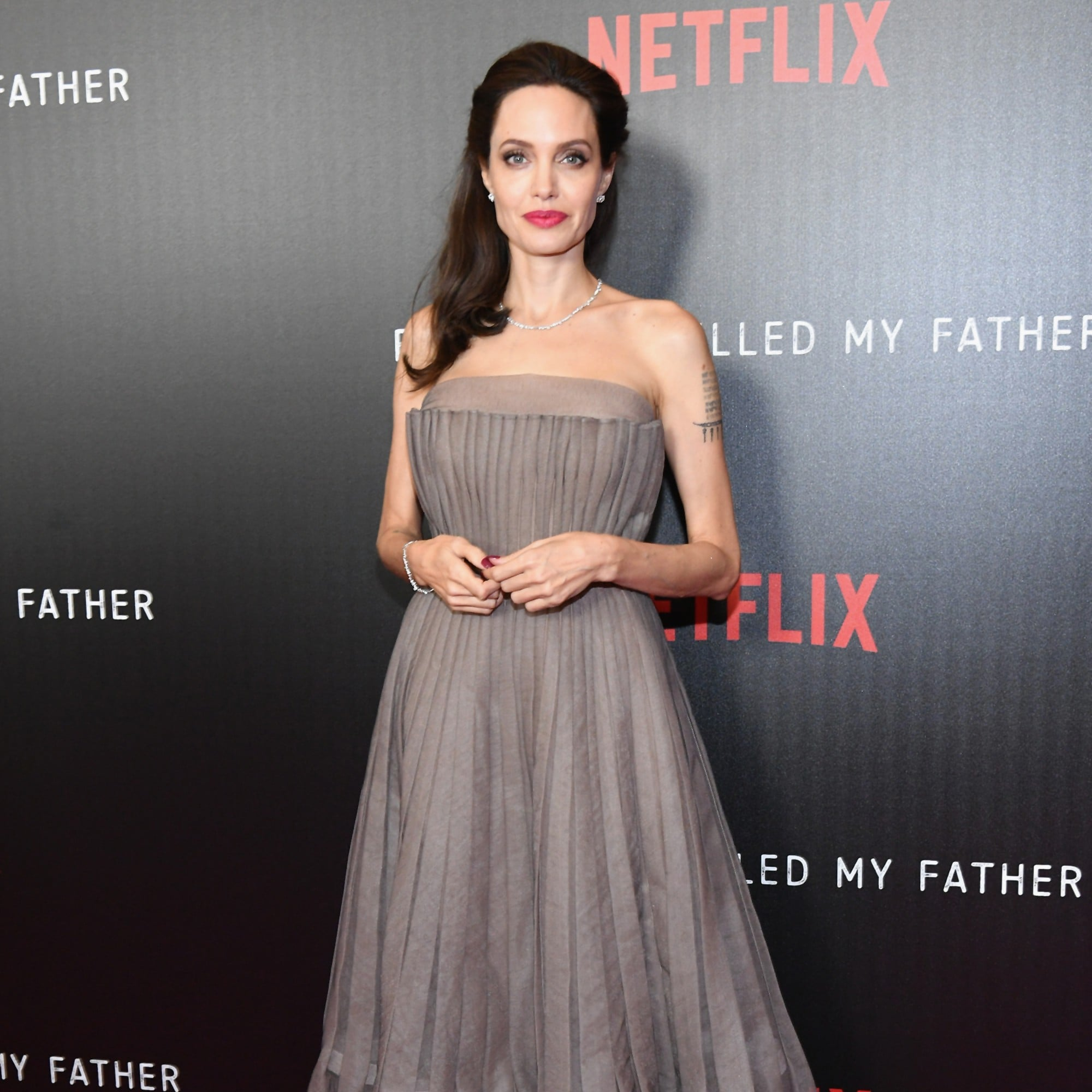 Angelina Jolie\'s Dior Dress at First They Killed My Father ...