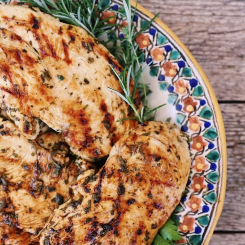 Lemon-Herb Grilled Chicken
