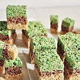 Minecraft Rice Krispies Treats
