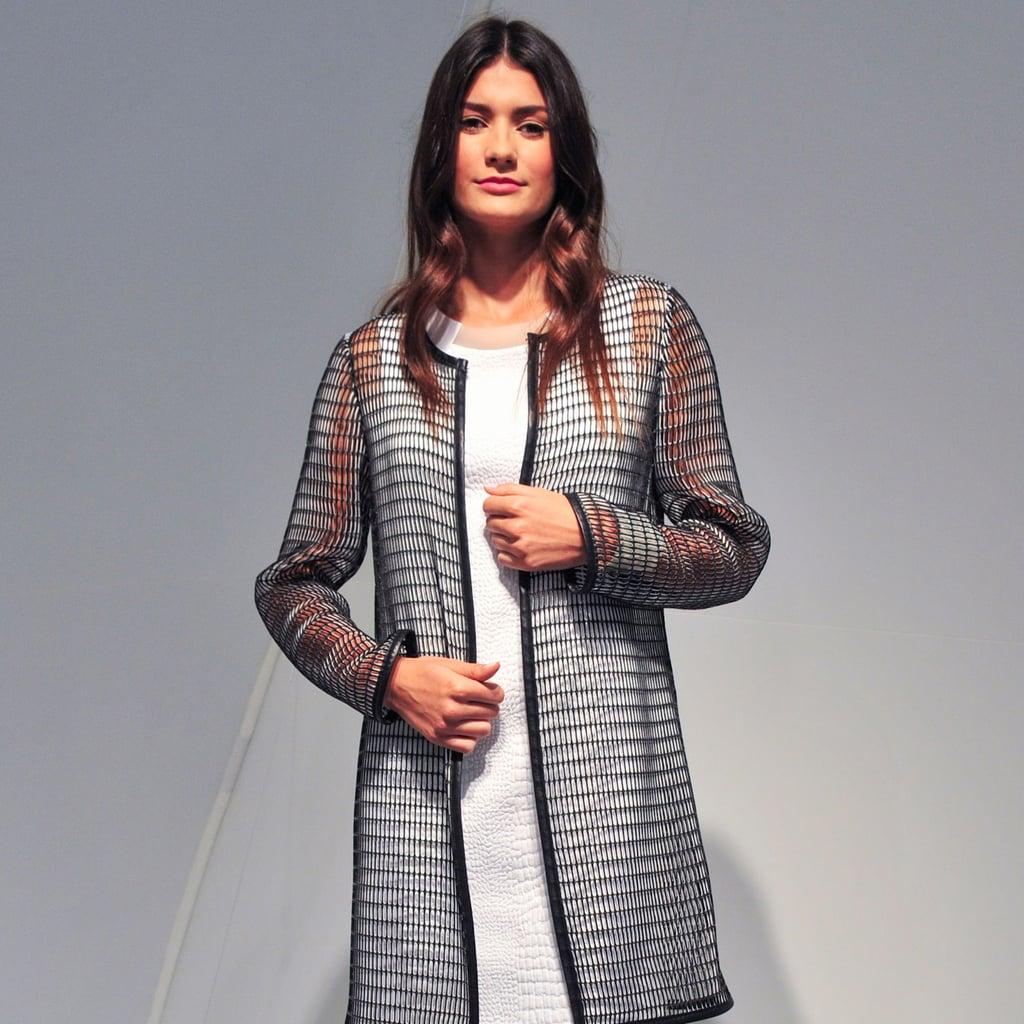 2014 Spring New York Fashion Week Runway Elie Tahari