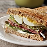 Creative Ham and Cheese Sandwich
