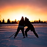 Play Each Other in Hockey (or Go Skating)