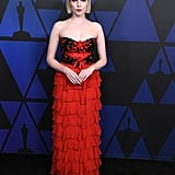 Lucy Boynton at the 2018 Governors Awards
