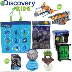 Discovery Kids Showbag ($26) Includes:  Plasma all  Space explorer building blocks  Grass man