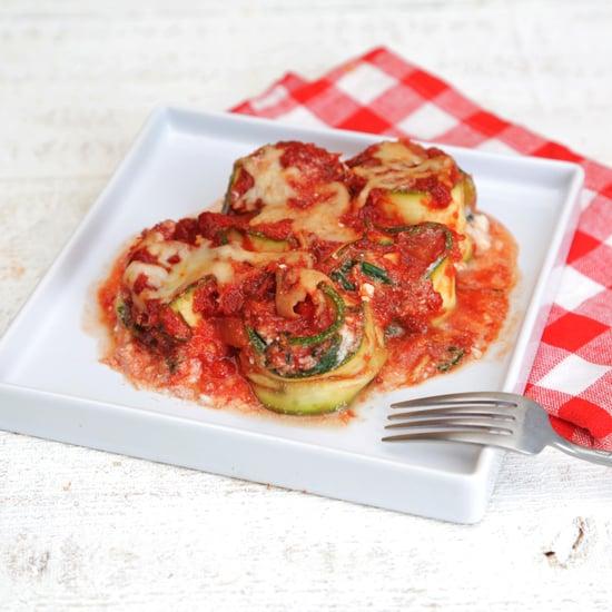 Low-Carb Zucchini Lasagna Rolls