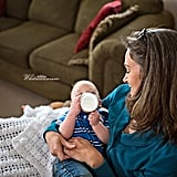 Bottle-Feeding Baby Photos