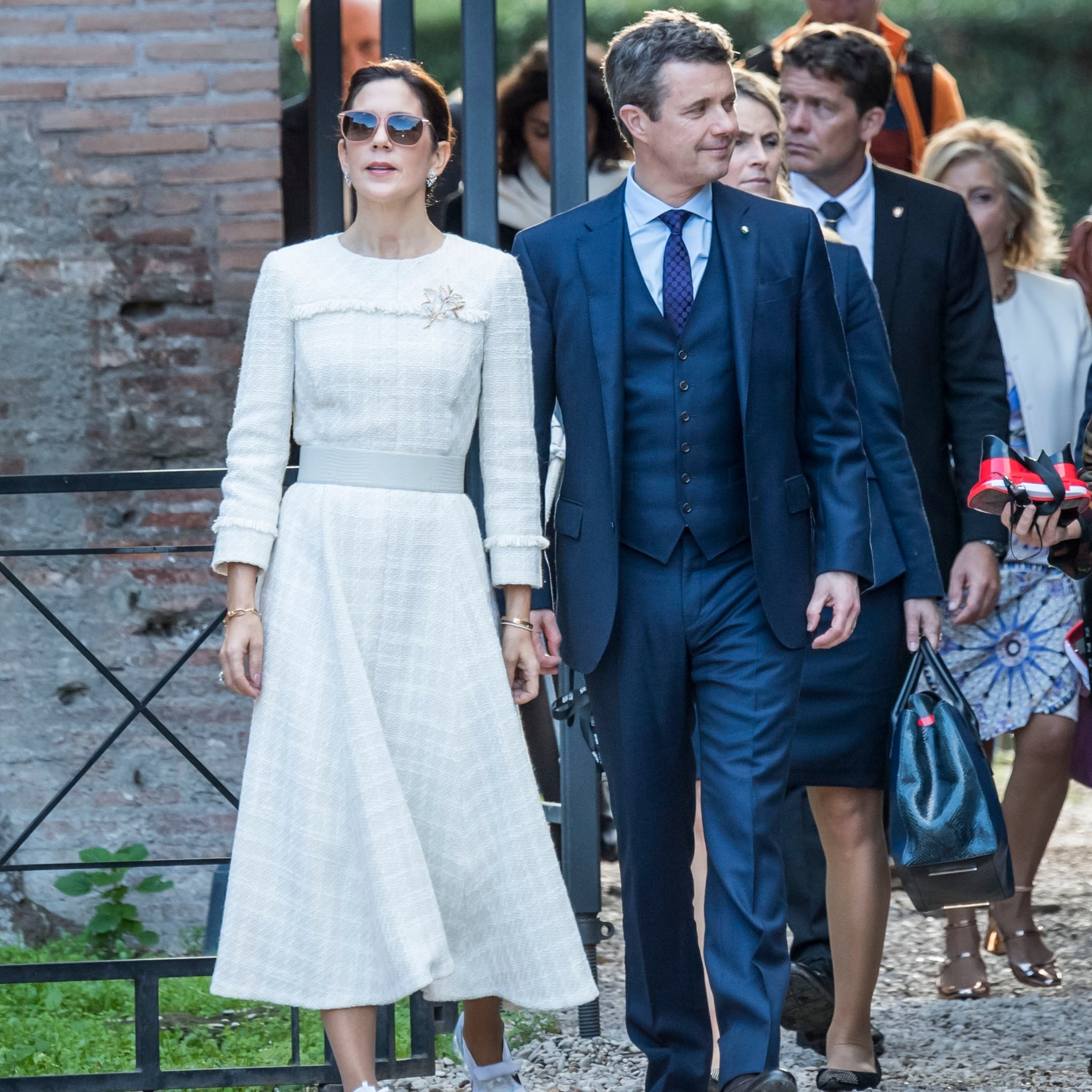 Princess Mary in Nike Sneakers in Rome