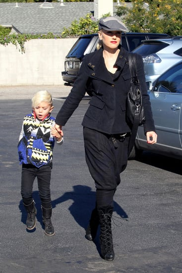 Gwen Stefani takes her son Kingston out shopping in Sherman Oaks