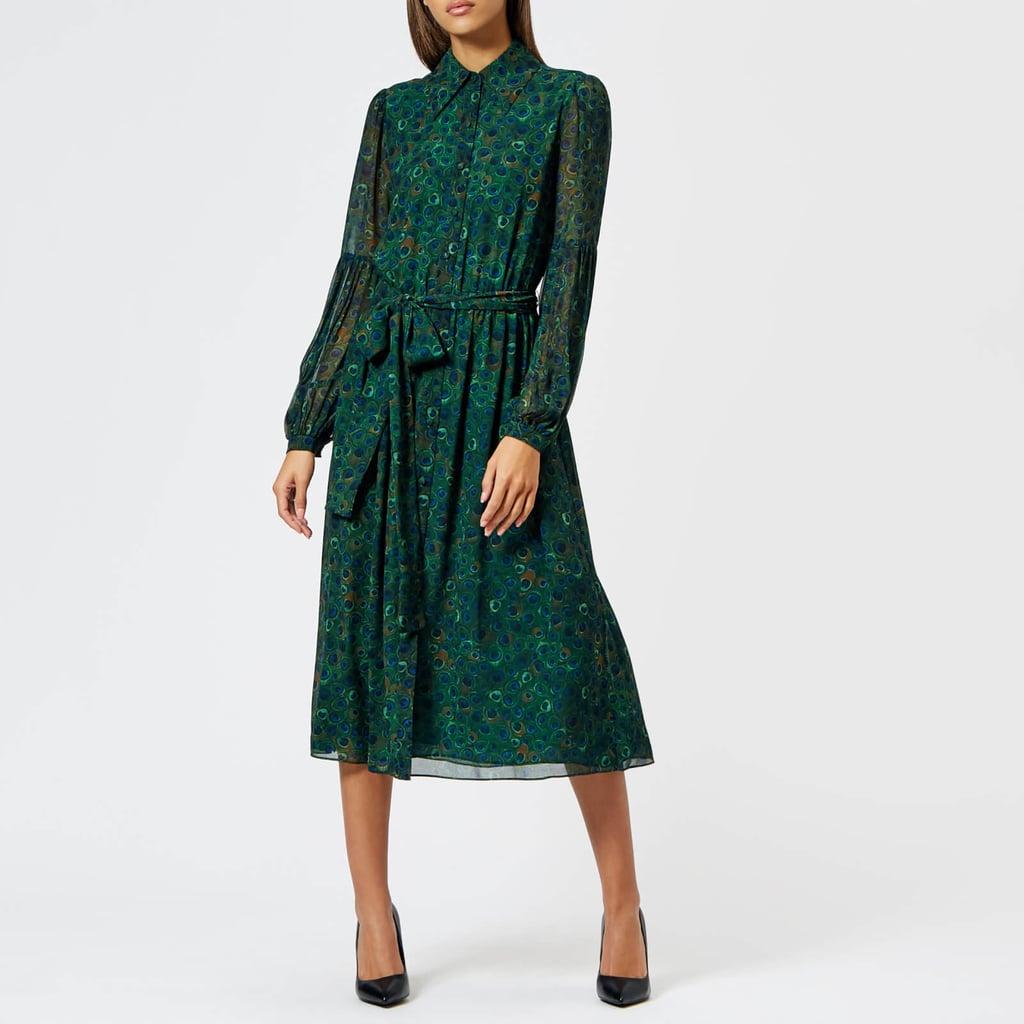 Kate's Exact Michael Michael Kors Peacock Dress