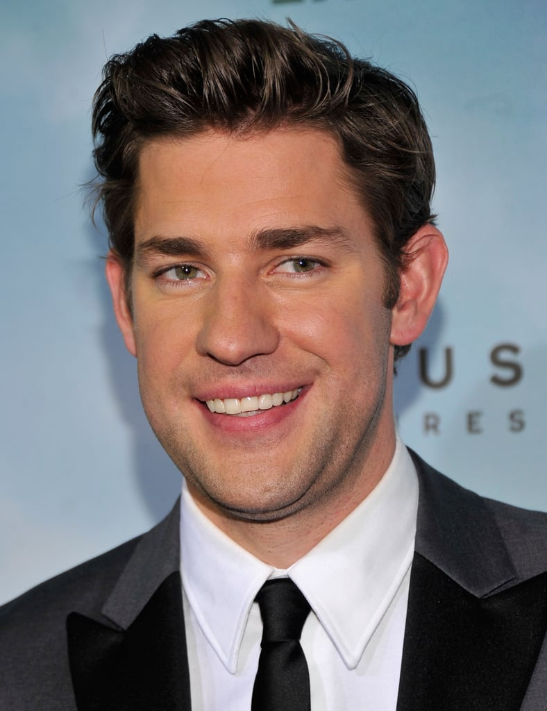 John Krasinski smiled in NYC.