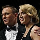 With Daniel Craig