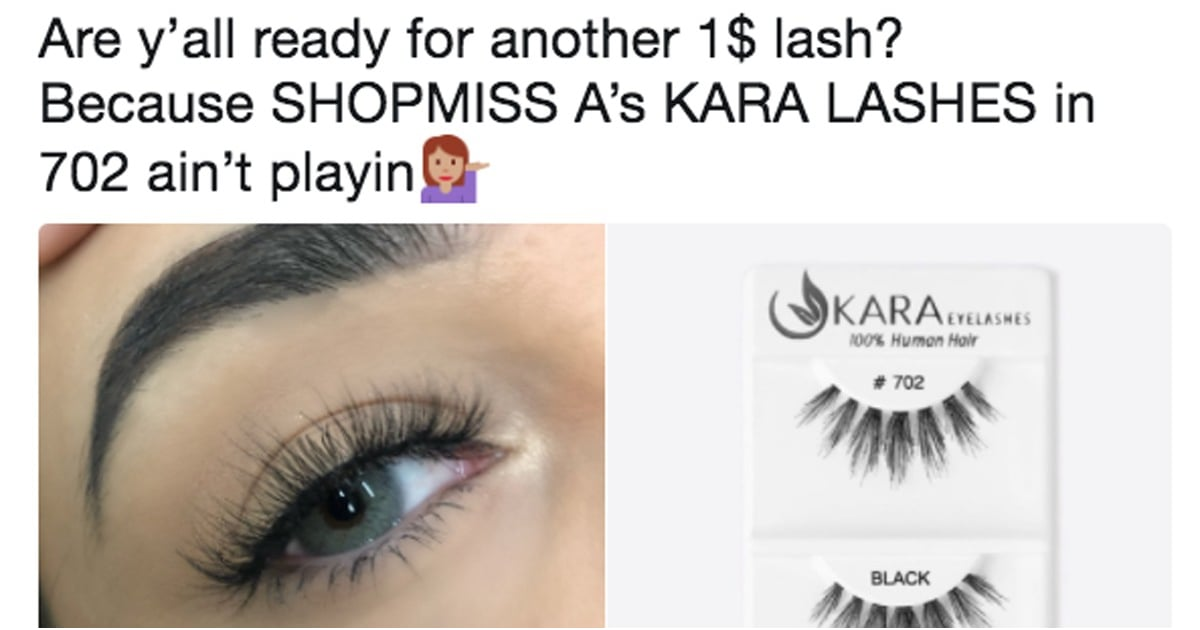 False Eyelashes That Look Like Eyelash Extensions Popsugar Beauty