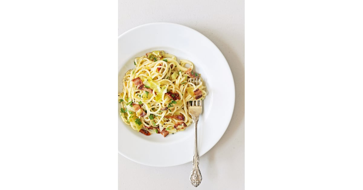 Carbonara With Leeks and Sundried Tomatoes | 20 Fast and Easy Bacon ...