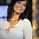 Mandy Moore was on the show in 2003.