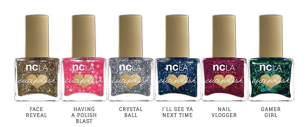 This Viral YouTuber Just Created the Cutest Glitter Nail Polishes For the Holidays