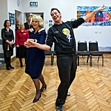 The Duchess of Cornwall and Craig Revel-Horwood