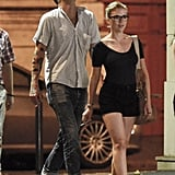 Scarlett Johansson and Nate Naylor Get Romantic in Paris