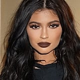 Kylie Wearing One of Her Lip Colors