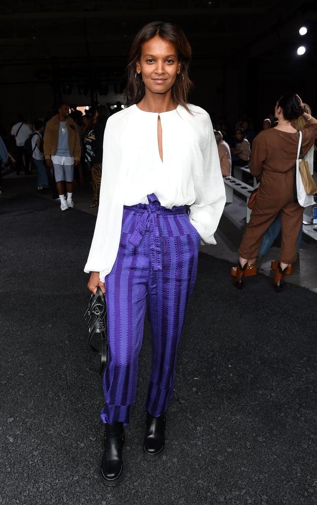 Liya Kebede at the 3.1 Phillip Lim New York Fashion Week Show