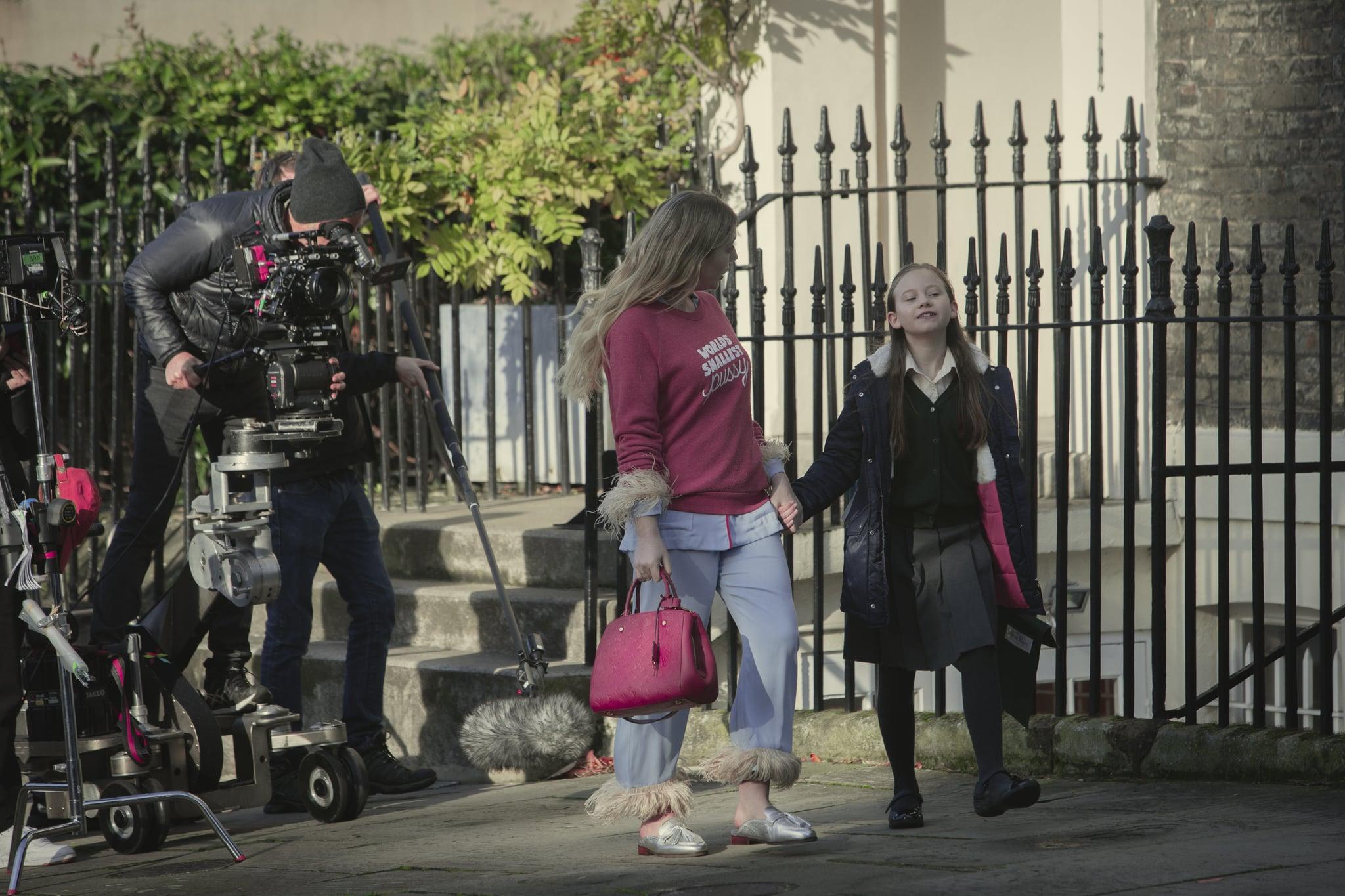 The Duchess Season 1. Katherine Ryan as Katherine in episode 1 of Duchess Season 1. Cr. Simon Ridgway/NETFLIX © 2020