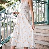 UO Ember Smocked Midi Dress